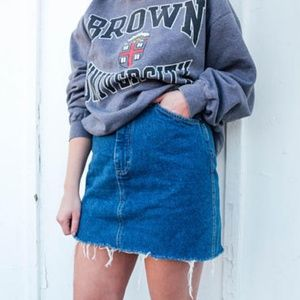 LEE Denim Midi Skirt Vintage Denim